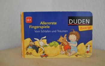 Kinderbuchvorstellung: Allererste Fingerspiele. Vom Schlafen und Träumen