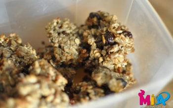 Rezept für saftige Bananen-Haferflocken-Cookies